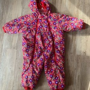Floral Hanna Andersson Snowsuit Onepiece 90 3T